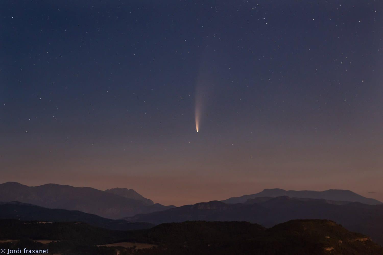 Cometa C/2020 F3 NEOWISE gran campo 11/07/20