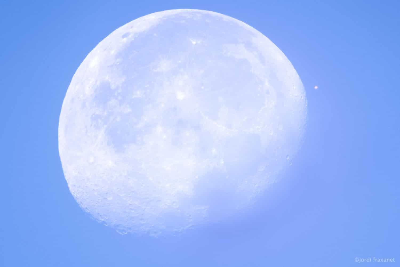 Conjunción de la Luna y Marte
