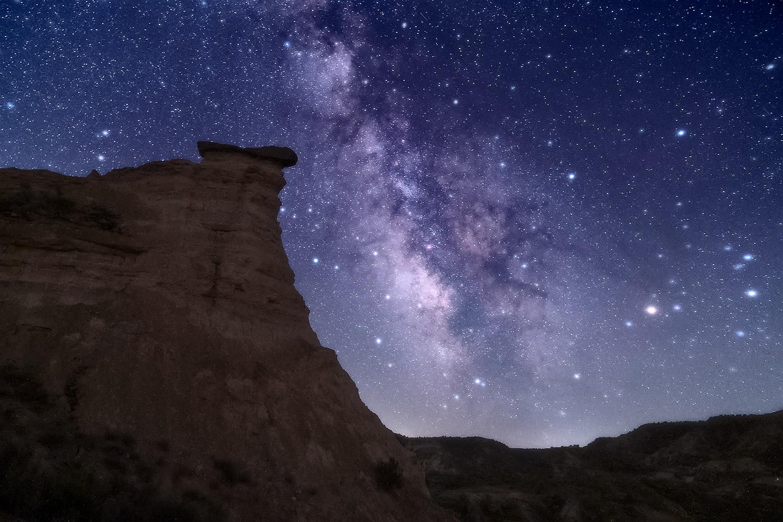 Alineación cósmica en Monegros
